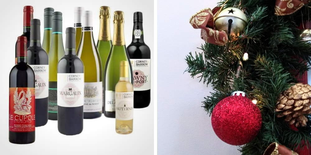 Corney & Barrow Christmas Selection winerist.com