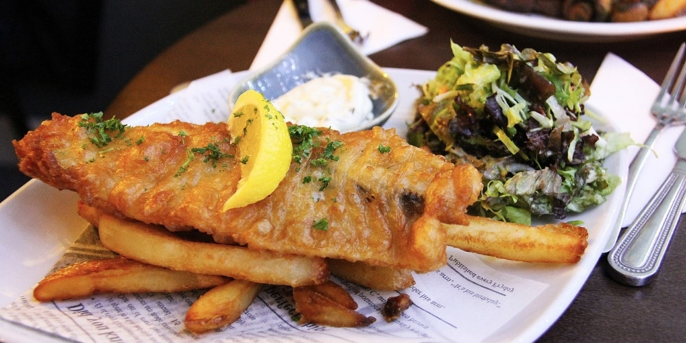 Fish and Chips Winerist