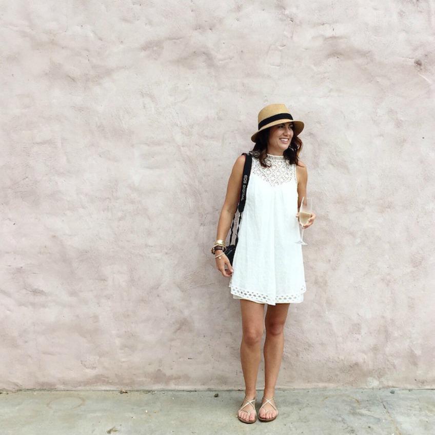 Jillian Harris White Dress