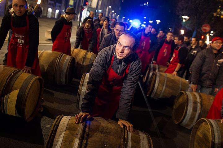 Beaujolais wine event