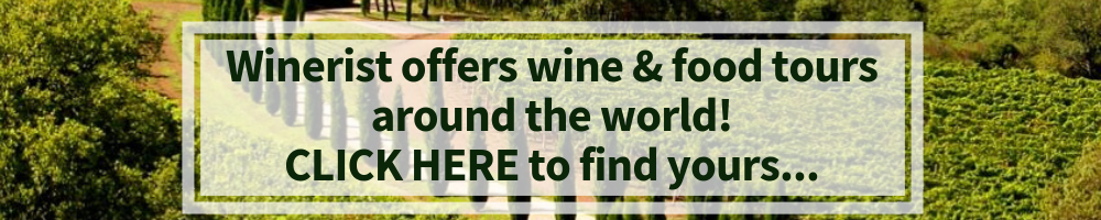 Winerist offers wine and food tours around the world